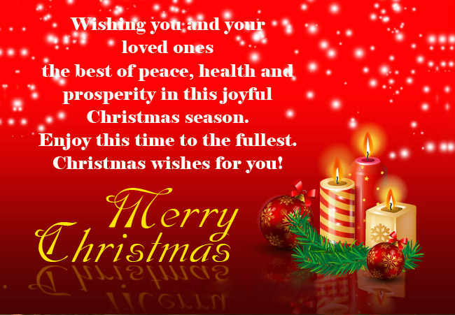 Christmas day card christmas greetings christmas greeting cards the medium used when expressing your heartfelt wishes is also as instrumental as the message itself in making the occasion memorable for everyone m4hsunfo Image collections