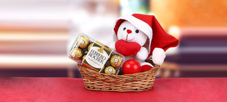Gift A Hamper With Santa